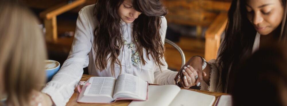 reading, praying together